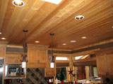 Kitchen Knotty Pine Panel, T&G Decking, T&G Flooring, Log Cabin Siding