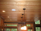 ceiling Knotty Pine Panel, T&G Decking, T&G Flooring, Log Cabin Siding